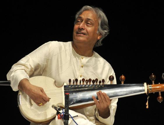 Musical Album 'Vaada' was one instance.  Composition by Gulzar, put in music by Sarod Maestro Ustad Amjad li Khan.